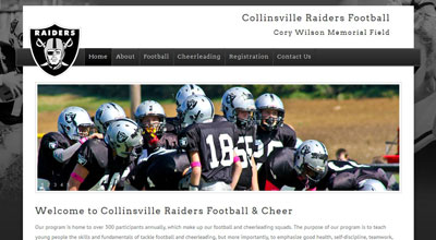 Collinsville Raiders Football & Cheer
