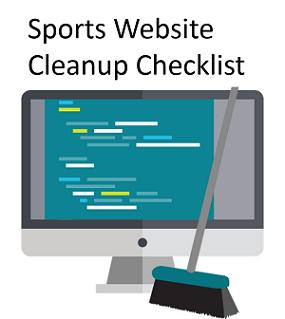 Sports website design resources