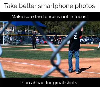 smartphone photo tips