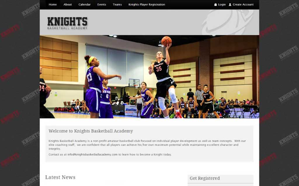 Knights Basketball Site