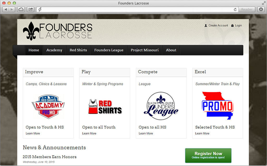 Founders Site